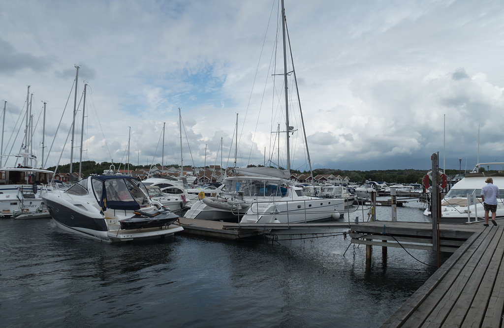 Hamnen vid Tanumstrand